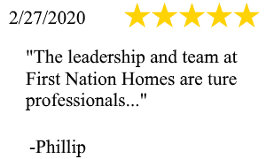First Nation Homes Review